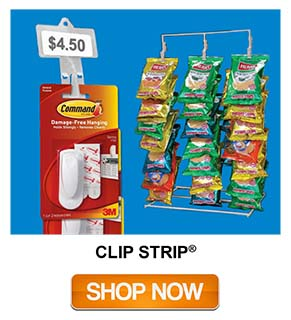 Clip Strips - Merchandising Strip Styles - Product Display