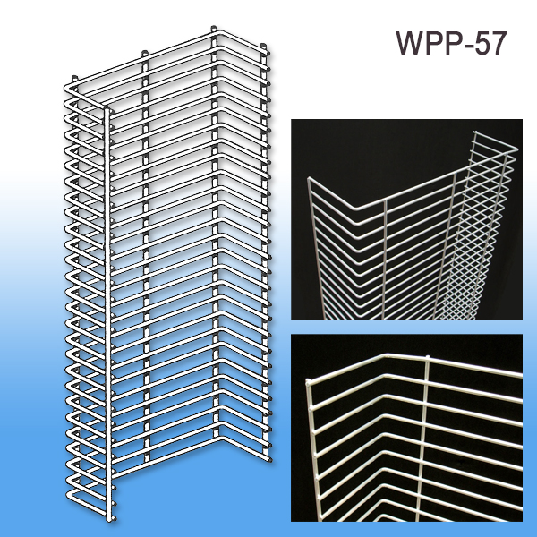 Wire Power Panel Wing | Metal Display Rack | Retail Endcaps