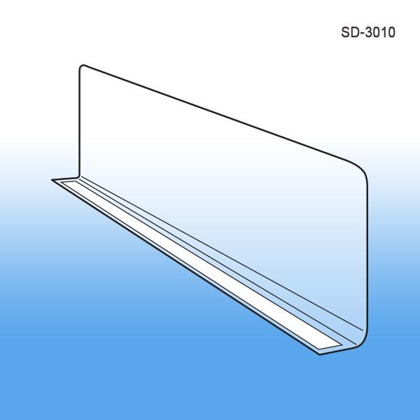 71 Magnetic Shelf Dividers 6 X 3 In Shelf Divider Spectrum Diversified Closet