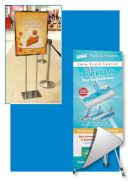 Floor Banner Stands - Poster Frame Display | Clip Strip Corp.