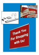 Classic Aluminum Banner/Sign Hanger