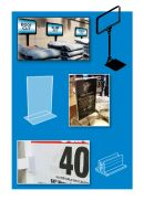 Counter Display Materials - Counter Top Sign Holders
