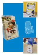 Free Standing Brochure Holders- Deluxe Countertop