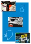 display pegboard hook product stop