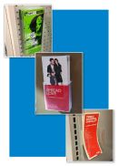 Wall-Mount Acrylic Literature and Brochure Holders