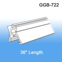 "36"" Galactic Wall Mount Gripper Banner/Sign Holder w/ Adhesive, GGB-722"