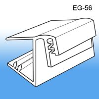 Wood Shelf Edge Sign & Label Holder | Clip Strip, EG-56