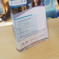 "brochure holder, 8-1/2"" x 11"", C-230"