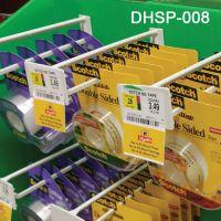 """nylon filled, sag resistant scan plate corrugated  power panel hook, 8"""" long, DHSP-008"""