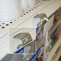 clip strip shelf edge strip adapter clip, PCA-50