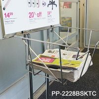 Wire Basket for Banner Stand, PP-2228BSKTC