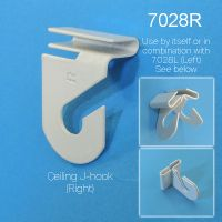 Aluminum Ceiling J Hook, Right Angle, 7028R