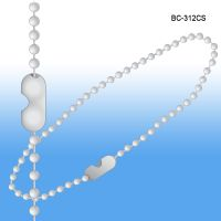 "12"" long Beaded Metal Chains 