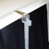 clip strip hanger with two clip strips, dsh-888