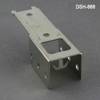 double clip strip merchandising hanger, dsh-888