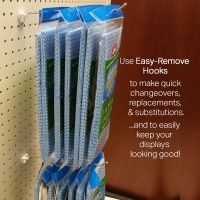 EBH-2, easy changeover pegboard hook