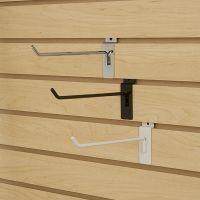 metal slat wall display hooks, SHM-14-BK