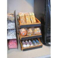 tabletop wicker basket display, products, utensils, WBCD-318