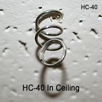 Spiral Hanging Coil Screws into Ceiling Tile | Hang and Display Sign Accessories, HC-40
