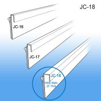 "J - Channels, .250"" capacity 