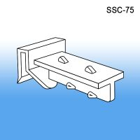 Clip Style Horizontal Corrugated Shelf Support, SSC-75