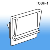 "1"" Peel N Stick Sign Holder - Wall Mount, TOSH-1"