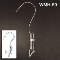 Wire Metal Easy Ceiling Sign Hanger with 5 ft. Mono-filament Barbed Cord WMH-50
