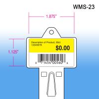 Walmart approved molded heavy duty impulse strip, wms-23