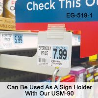 EG-519-3 Can Be Used As A Sign Holder Wth Our USM-90 and a Variety of Uses
