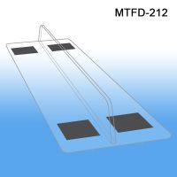 "1"" x 12"" magnetic Thermo Formed Shelf Divider, MTFD-212"