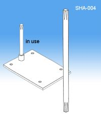 "SHA-004, Sign Holder System 8"" Stem 