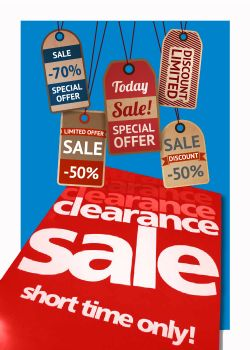 Clip Strip Clearance Items