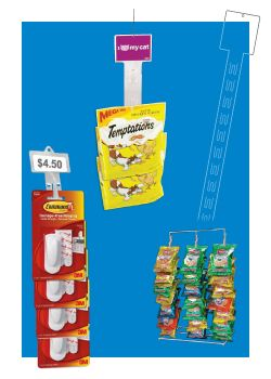 Clip Strips | Merchandising Display Strips - Point of Sale Materials - Retail Display