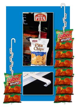 Double-Sided Metal Merchandising Strips