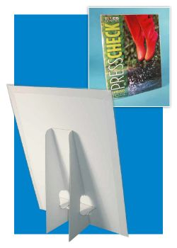 Easel Sign Holders with Brochure Pocket