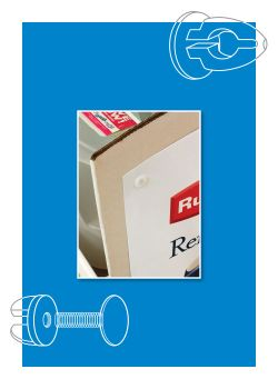 EZ Lok Post & Screws - Display Fasteners