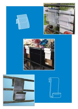 Power Panel Clips - Corrugated Sidekick Display