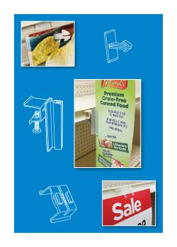 Sign Holders | Retail POP Signage Hardware - Ceiling, Wall, Shelf ...