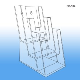 3-Tier Literature Holder, 3C-104