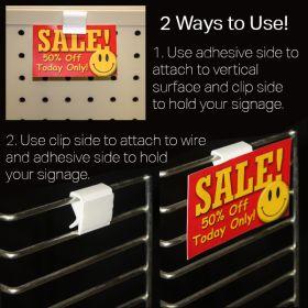 Peel and Stick sign holder, APA-105