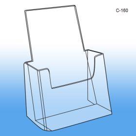 6.25 x 7.5 literature holder, c-160