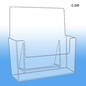 Countertop Molded Literture Holder, C-230