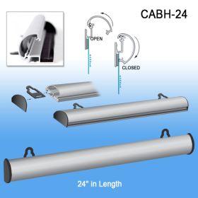 """24"""" Classic Aluminum Banner Hanger, CABH-24"""