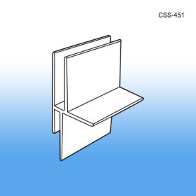 Corrugated Shelf Support Insert – Single Capacity, POP Display Construction, CSS-451