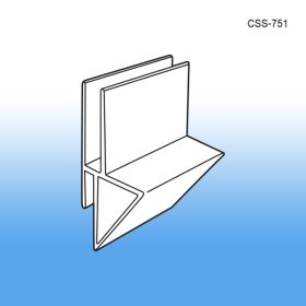 Corrugated Shelf Support Inserts, Heavy Duty, Single Capacity, CSS-751