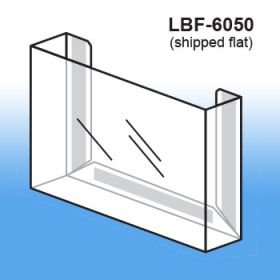 Flat Peel & Stick Literature Holder, LBF-6050