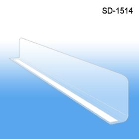 "1"" x 13-9/16"" Econo-Line Shelf Divider, SD-1514, Retail Supply"