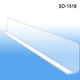 """1"""" x 17-9/16"""" Econo-Line Shelf Divider, SD-1518"""