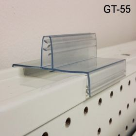 3 inch gripper gondola top sign holder, GT-55
