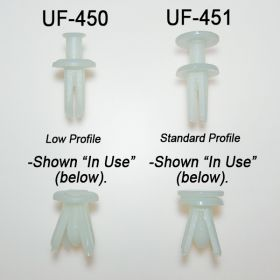 metal shelf fastener, UF-450, UF-451